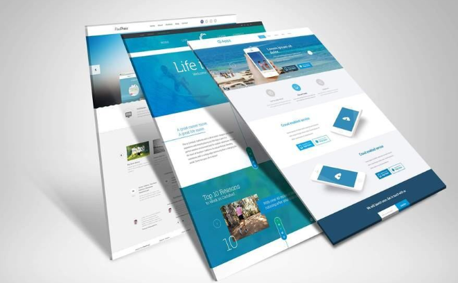 中小企业网站